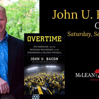 Books on Sports: John U. Bacon talks about his book Overtime: Jim Harbaugh and the Michigan Wolverines at the Crossroads of College Football
