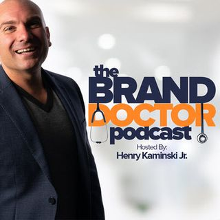 Episode 437-How Branding + Sales Play Nice Together Feat Daniel G-The Brand Doctor Podcast with Henry Kaminski, Jr