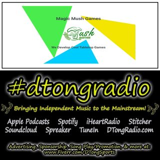 #MusicMonday on #dtongradio - Powered by MagicMushGames.com
