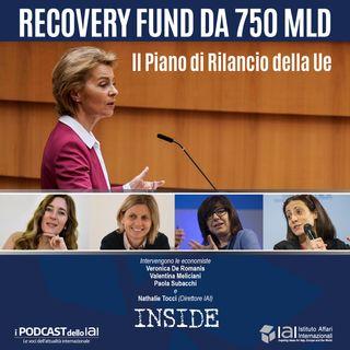 Recovery Fund da 750 mld. Il Piano di Rilancio della Ue