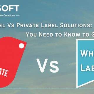 White Label Vs Private Label Solutions Everything You Need to Know to Get Started