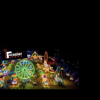 Frazier Carnival with George Tobias by Countyfairgounds