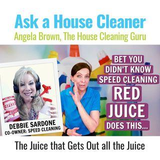 Speed Cleaning Red Juice with Debbie Sardone