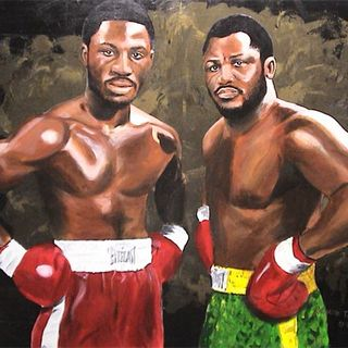 Marvis Frazier Heavyweight Contender