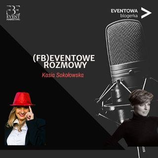Reżyser na evencie czyli Kasia Sokołowska na pokazie mody.