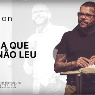A BÍBLIA QUE VOCÊ NÃO LEU - A solução que você nunca entendeu | ANDERSON SILVA