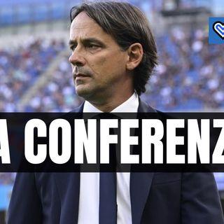 Sassuolo-Inter, rivivi la conferenza di Inzaghi in un minuto