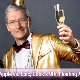 MBW 728: Shake 'n Bake and Rice-a-Roni - Apple vs. Epic, Tim Cook's 9th Anniversary, Floating Apple Store Sphere