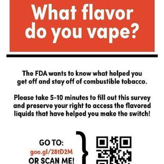 """#smokefreeradio """"Flavor Study Update"""""""