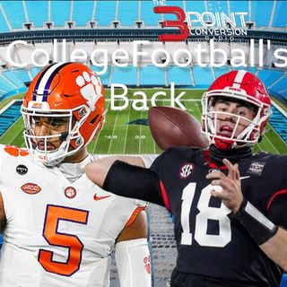 The 3 Point Conversion Sports Lounge - College Football Is Back, Vaccination Shot Affecting Sports, NFL (NFC Outlook), Dodgers-Giants