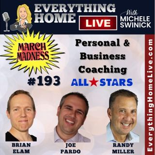 193 LIVE: MARCH MASKLESS MADNESS - Personal & Business Coaching - ALL STARS