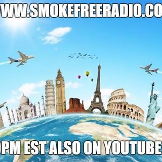 "#smokefreeradio ""Around the world in 60 minutes"""