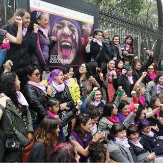 Está por iniciar en la CDMX la marcha por el Día de la Mujer