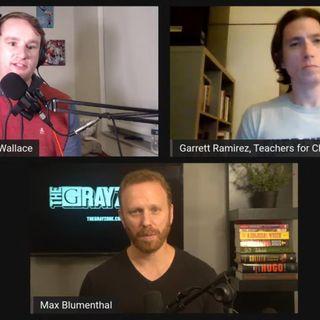 Max Blumenthal & Garrett Ramirez of NYC Teachers for Choice on Mass Layoffs, Kyrie, Socialism & more