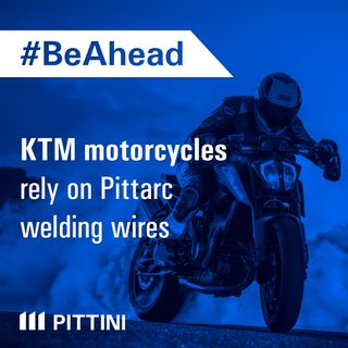 Ep. 10 - KTM motorcycles rely on PITTARC welding wire