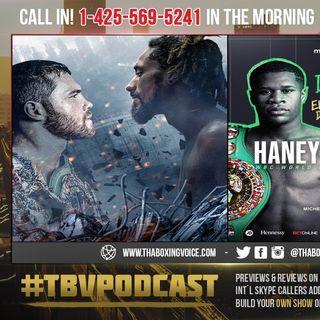 ☎️Canelo vs Hypocrite Bernard Hopkins😱Haney vs Linares🔥Jorge Believes Haney will RUN🏃🏾♂️