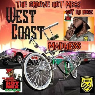 THE GROOVE HOT MIXX PODCAST RADIO WEST COAST WIT DJ BUGZ