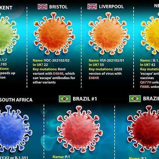 Le varianti Covid in Italia, dati stabili e modifiche colori delle regioni