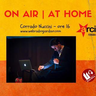 ON AIR   AT HOME - con Corrado Nuccini
