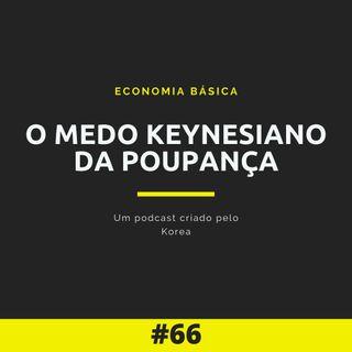 Economia Básica - O medo keynesiano da poupança - 66