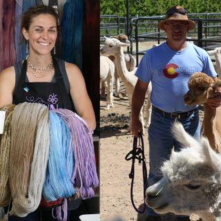 Farm to Yarn in Palisade Colorado - Cayenna Hanna and Mike McDermott on Big Blend Radio