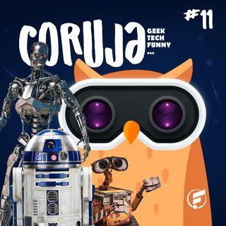 Coruja POP #11 Os melhores robôs da ficção!
