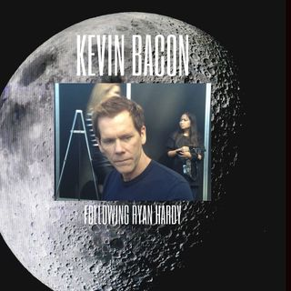 Kevin Bacon Following Ryan Hardy