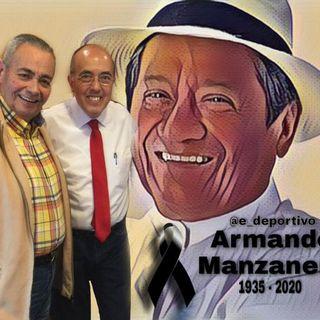 Homenaje al maestro Armando Manzanero en Espacio Deportivo de la Tarde 28 de diciembre 2020