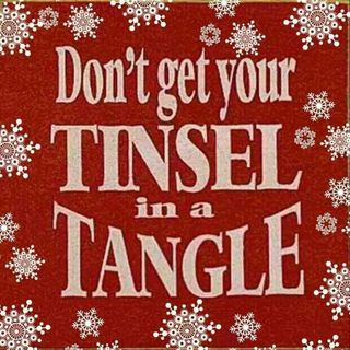 Untangle Your Tinsel...