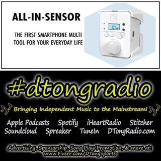 #NewMusicFriday on #dtongradio - Powered by All-In-Sensor: Smart Home & Security