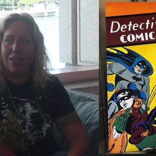 Holy Artwork Batman! An interview with Athena Finger on the Hangin With Web Show