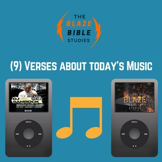 (9) bible verses about today's Music