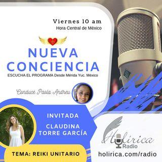 Nueva conciencia entrevista con Claudina Torre