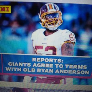 Giants Sign Ryan Anderson Sneeky Good Signing!