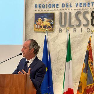 Luca Zaia inaugura la nuova centrale operativa del Suem 118. E' costata 2,2 milioni