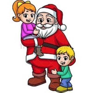 Cosa vedono i bambini di così bello in Babbo Natale?