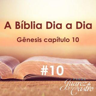 Curso Bíblico 10 - Gênesis Capítulo 10 - A Posteridade de Noé - Padre Juarez de Castro