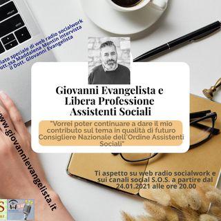 Giovanni Evangelista e libera professione assistenti sociali