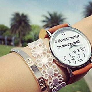 #medicina Non sono in ritardo è che....
