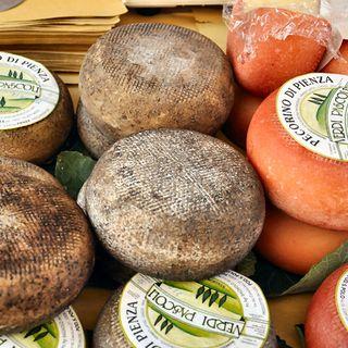 Pecorino di Pienza: the typical tuscan cheese