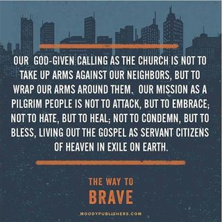Pastor Andy McQuitty: The Way To Brave: Shaping A David Faith in a Goliath World