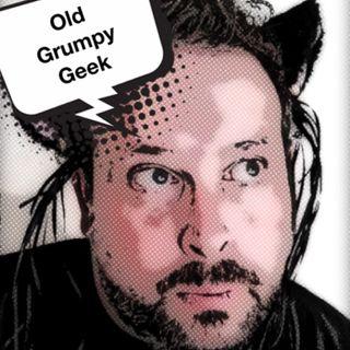 Old Grumpy Geek Stands Up