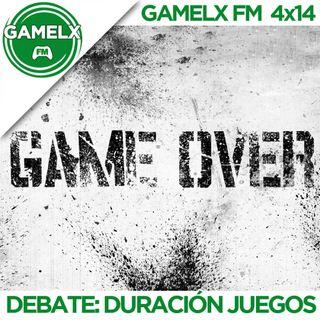GAMELX FM 4x14 - Debate: La duración de los juegos