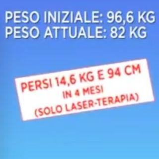 DINA BERTIPAGLIA 🔥 PERSI 14,6 KG E 94 CM IN 4 MESI SOLO CON LASER-TERAPIA! 💪 VIVERESNELLA