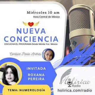 Nueva Conciencia entrevista con Roxana Pereira