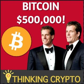 Winklevoss Twins Predict BITCOIN Will Hit $500,000 & Bakkt Volume Increases!