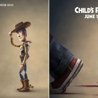 ...Recommends Movies (Child's Play, Toy Story 4)