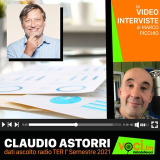 CLAUDIO ASTORRI su VOCI.fm - clicca PLAY e ascolta l'intervista
