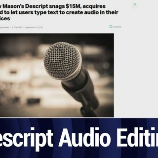 Descript Flips the Script on Podcast Creation | TWiT Bits
