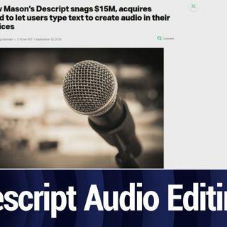 Descript Flips the Script on Podcast Creation   TWiT Bits